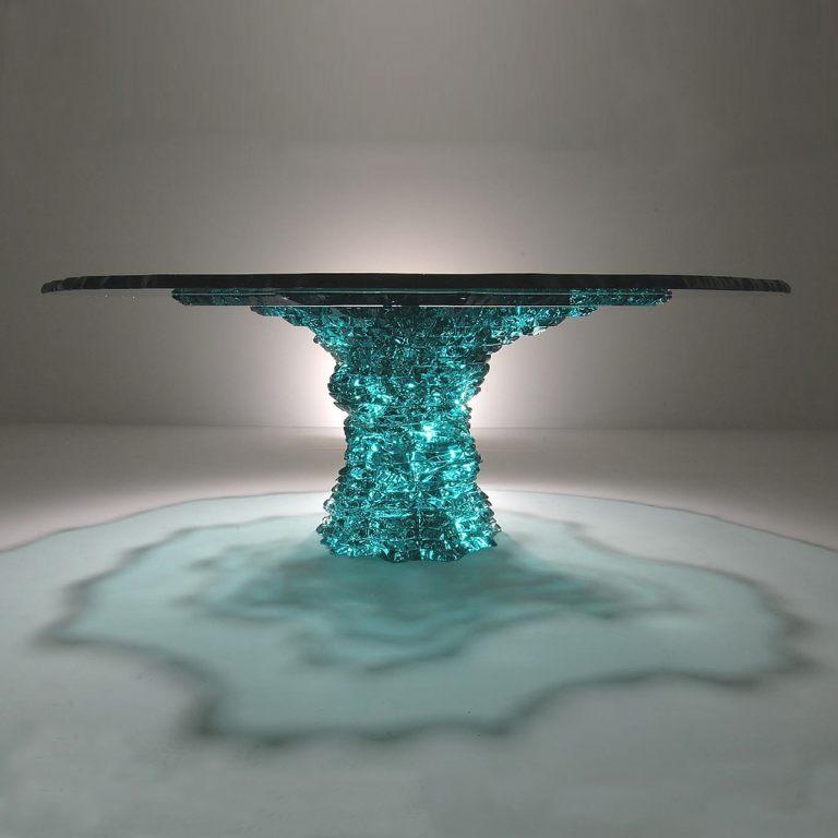 GREENSTONE - tavolo foto quadrata