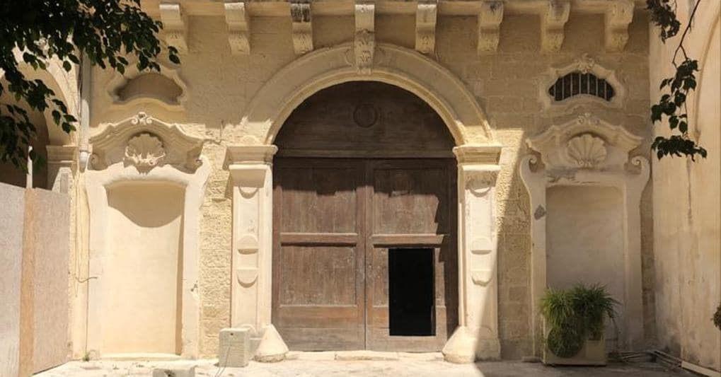 Palazzo Luce_Lecce_cortile interno