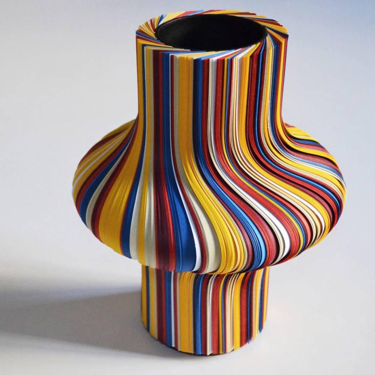 Sottosopra vaso foto quadrata